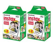 Japan Made 40 Fuji Instax Mini 8 Film 50s Mini 90 Mini 25 Mini 7s Fujifilm