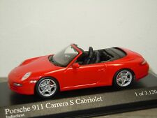 Porsche 911 997 Carrera S Cabriolet 2005 - Minichamps 1:43 in Box *34729