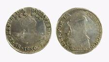 pci4166) BOLIVIA. Silver 4 SOL 1830 J L