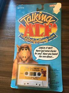 NEW! Vintage 1987 Coleco Talking ALF Cassette Hansel & Gretel Plus 3 Stories NEW