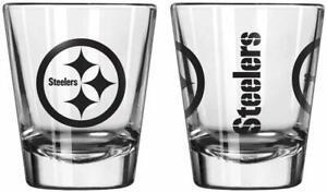 Pittsburgh Steelers NFL Single Logo Shot Glass - New