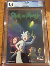 Rick and Morty 1  CGC 9.6  4CG Variant