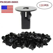 120 Pcs Clips for Toyota Lexus Replace #90189-06065 Fender Retainer Fasteners