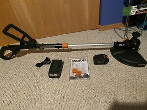WORX 20V Cordless Grass Trimmer/Edger. Battery + Charger INCLUDED