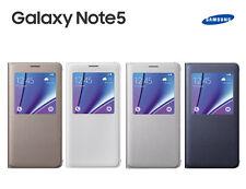 Genuine Samsung Galaxy Note 5 Slim S View Flip Cover Phone Case Skin Original