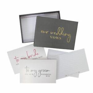 Wedding Vows Writing Set