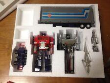 Transformers g1 VSX styrofoam custom Optimus Prime/Megatron