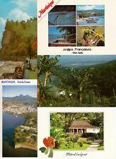 Lot de 100 cartes postales modernes post cards différentes MARTINIQUE ANTILLES