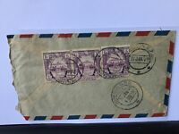 Burma 1949 Rangoon G.P.O. Airmail multi  stamps cover Ref R28058