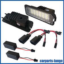 LED SMD SET VW SEAT Kennzeichenbeleuchtung Kennzeichen Leuchte - NEU