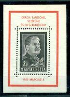 Ungarn, Stalin Nr. Block 26 postfrisch **