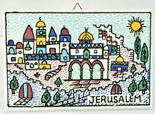 City Of Jerusalem Israel Tile Wall Art