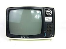 Vintage Retro Tokyo Deluxe Solid State CRT 12 Inch Television TV