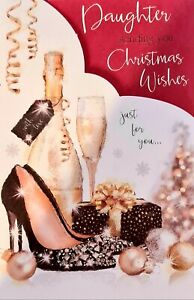 Daughter Christmas Wishes Card