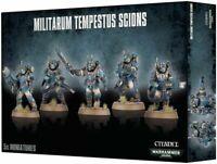 Warhammer 40k Astra Militarum Tempestus Scions / Scion Command (5) **NIB**