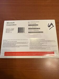 Microsoft Windows 8 Professional -64 Bit