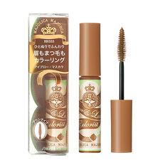 Shiseido [MAJOLICA MAJORCA] BR333 VANILLA BROWN Brow & Lash Colorist Mascara NEW
