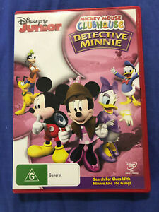 Mickey Mouse Clubhouse Detective Minnie - DVD - Region 4 - Free Postage