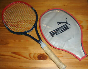 Puma Vintage Tennisschläger Boris Becker Super PCS für Sammler, Gr. 4 3/8