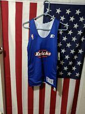 New York Knicks práctica Jersey de la Juventud M Auténtico Reversible Talla M Knicks de la Juventud
