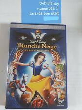 DVD Disney Blanche neige et les 7 nains numéroté 1 - en très bon état