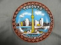 TORONTO - QUEEN CITY OF CANADA - 3D relief images  - Decorative Collector Plate