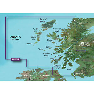 Garmin Bluechart G2 HXEU006R - Scotland West Coast - Micro SD/SD   010-C0765-20