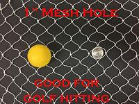 NEW 10Ft X 25Ft Sport Netting for Golf Hitting Training, Backstop, Hockey 148