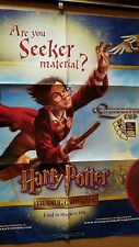 Harry Potter Quidditch Cup Trading Card Game Display Poster