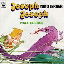 NINO FERRER JOSEPH JOSEPH / L'INEXPRESSIBLE FRENCH 45 SINGLE