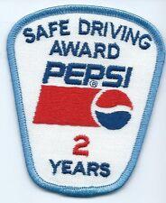 Pepsi Safe Driving Award 2 Years. 3-1/2X3X2 in