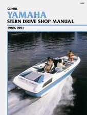 Clymer Yamaha Stern Drive Shop/Repair Manual, 1989-1991 (B787)