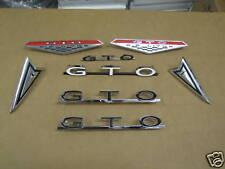 1964 PONTIAC GTO COMPLETE EXTERIOR EMBLEM KIT
