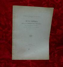 Libro Antico 1899 Primi Impianti Sparo Contro Nembi di Grandine Meteorologia