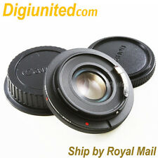 AF Confirm Canon FD lens to Canon EOS EF mount adapter Optic FOCUS INFINITY