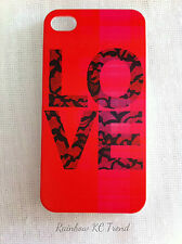 LOVE Printed iPhone 4/4S Case for Apple iPhone 4 for Apple iPhone 4s