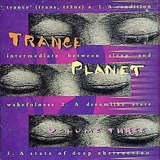 Trance Planet, Vol. 3 by Various Artists (CD, Feb-2000, Triloka) Promo