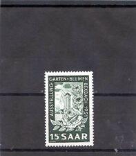 Saar Sc 229(Yt 294)*Vf Nh 1951 15F Greenish Black $12