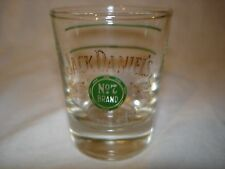 Vintage Jack Daniels ~ GOLD AND GREEN ~ 1960's Shot Glass