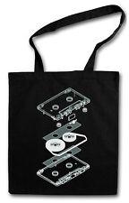 Audio cassette explosión hipster Bag-sustancia bolso bolsa de tela bolsa-casete