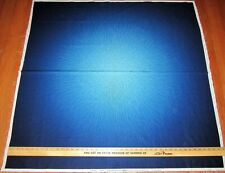 Hoffman Sapphire Christmas Sleigh Scene Fabric Panel Material