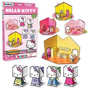 HELLO KITTY PAPERCRAFT PLAYSET