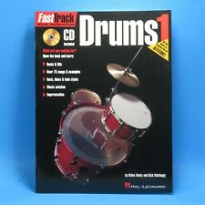 FAST TRACK MUSIC INSTRUCTION: DRUMS 1 WITH CD