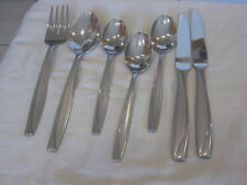 Oneida Stainless Camlynn Serve Fork &Spoon, Soups, Knives / Frost & Glossy 7 P