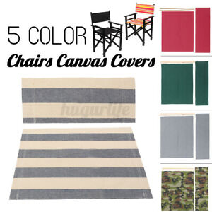 Casual Directors Chairs Replacement Canvas Seat Stool and Back Covers Sheet Home
