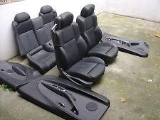 Inkl. UMBAU BMW E64 Cabrio Lederausstattung Sportsitze Leder schwarz Ausstattung