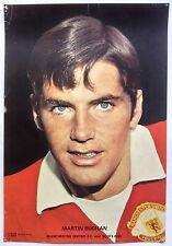 Manchester United 1970's Coffer Poster Martin Buchan