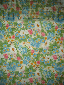 South Seas Imports Purr-Fect Garden FLORAL & Butterfly Quilt, Sew, Fabric