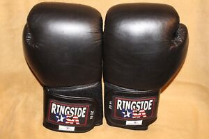 Ringside USA 16 Oz. Boxing Gloves - Excellent Condition - Made In USA