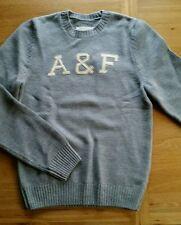 Abercrombie & Fitch A&F Silver Lake Sweater Maglione Originale in XXL Nuovo